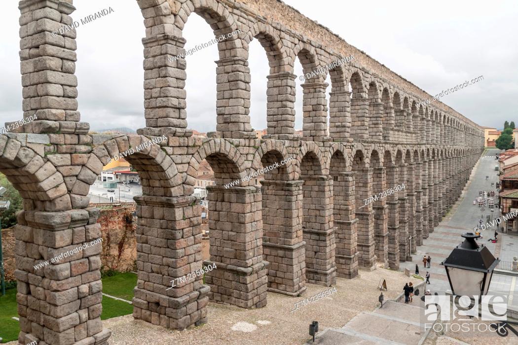 Imagen: Roman aqueduct, Segovia, Castilla-León, Spain.