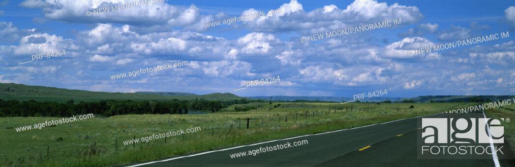 Stock Photo: Road MT.