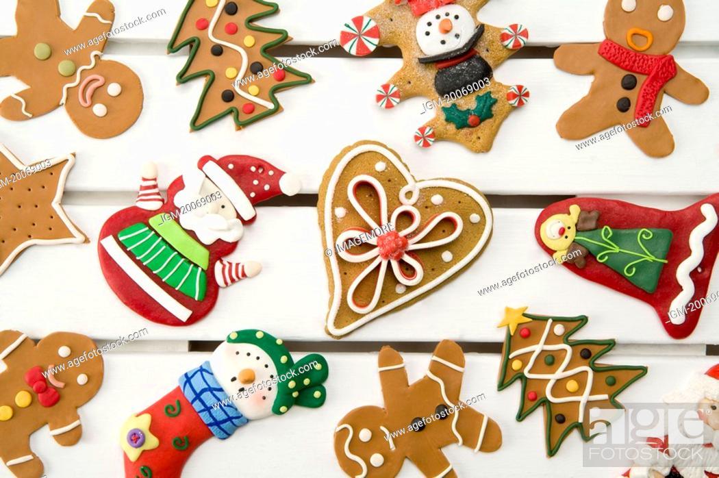 Stock Photo: Gingerbread Cookies.