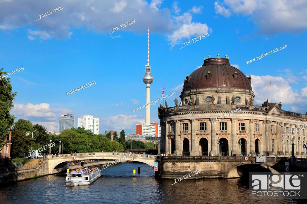 Imagen: Berlin Bode Museum Spree Television Tower.