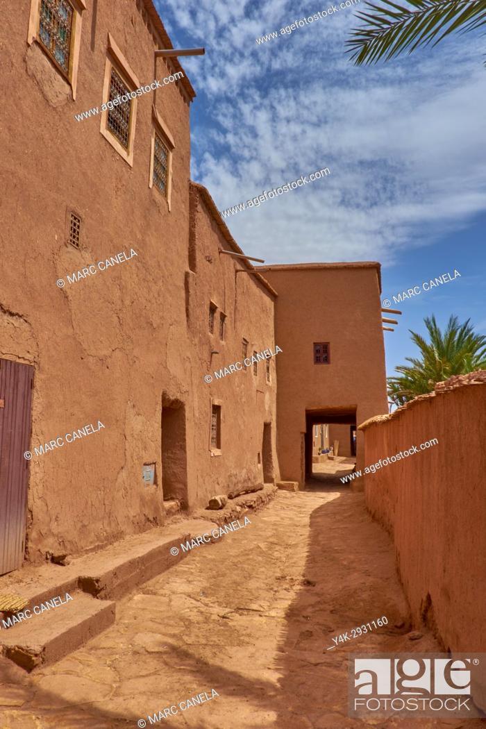 Stock Photo: Africa, Morocco, Ait ben Haddou near Ouarzazate.