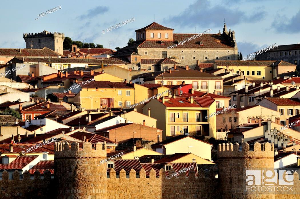 Stock Photo: Avila, Spain.
