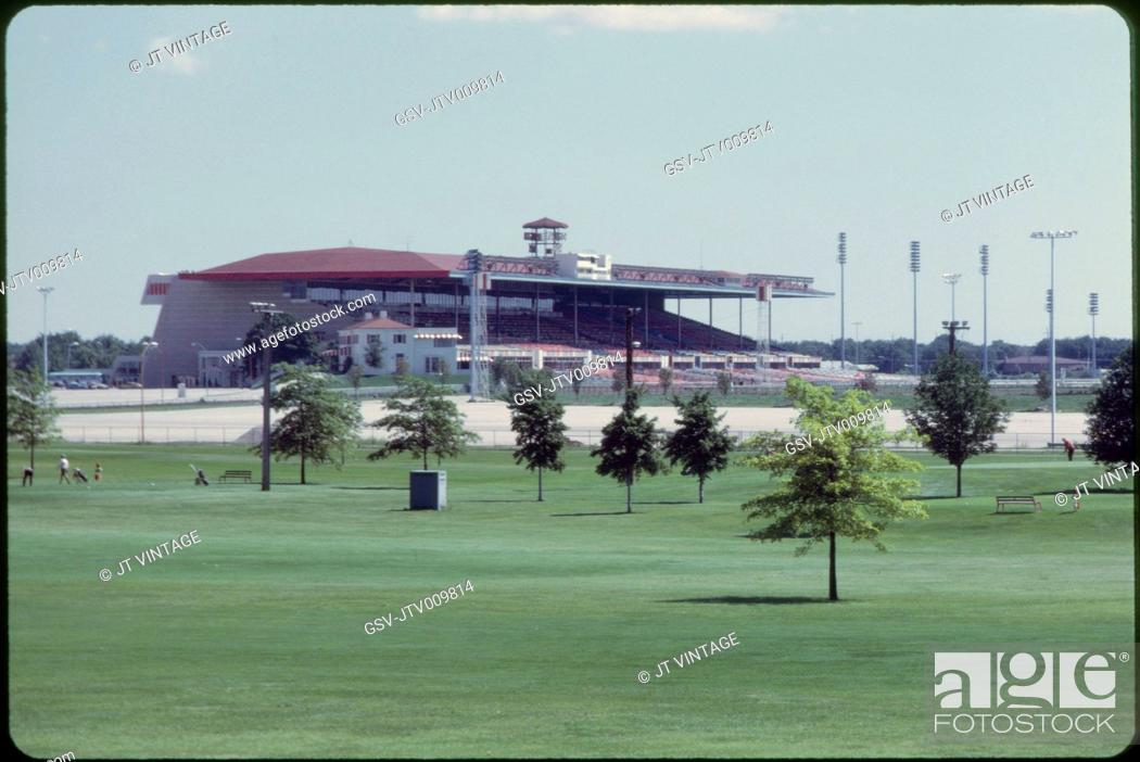 Imagen: Arlington Park Race Track, Arlington Heights, Illinois, USA, 1972.