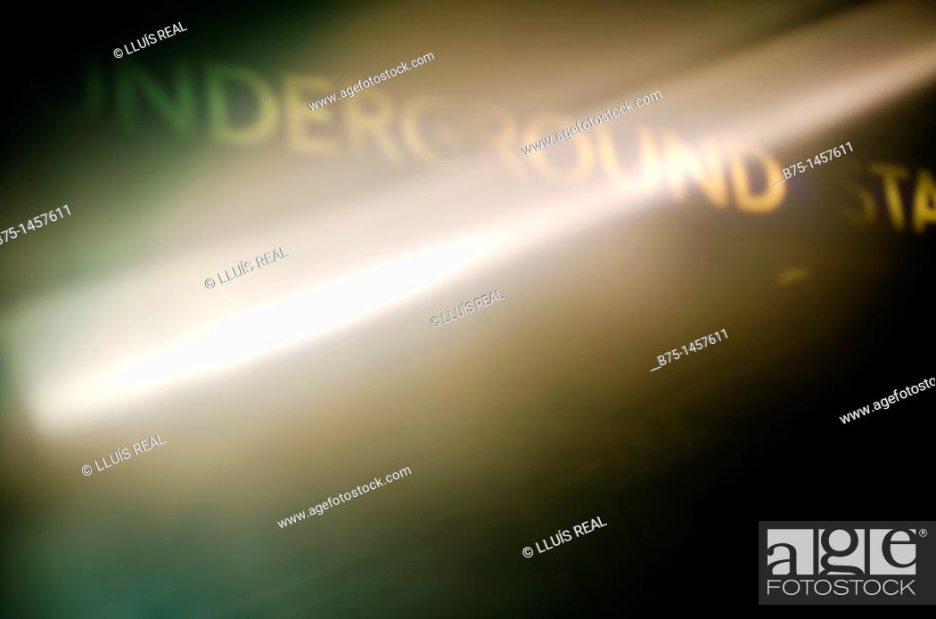 Stock Photo: Underground.