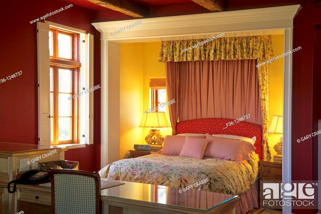 Stock Photo: Villa Toscana, Martin & Weyrich Paso Robles, San Luis Obispo County, California.