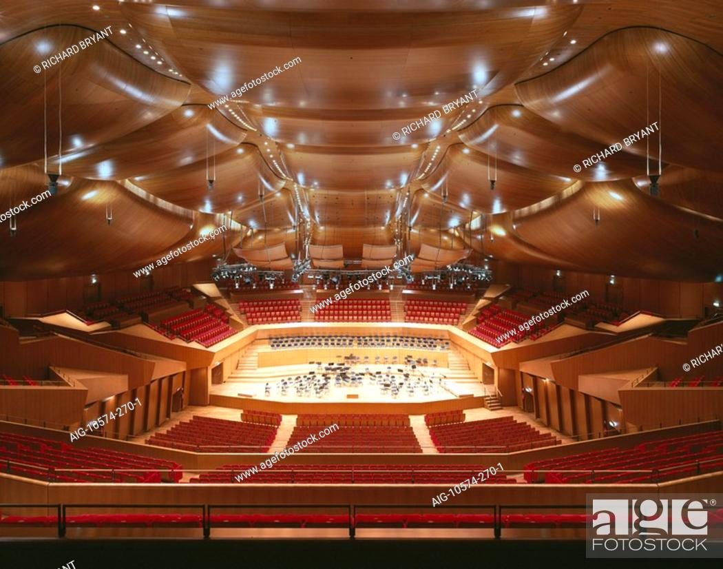 Auditorium parco della musica rome 1997 2002 sala for Auditorium parco della musica sala santa cecilia
