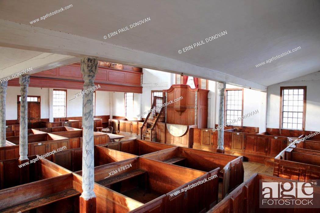 Sandown Meetinghouse Located In Sandown New Hampshire Usa Which Is