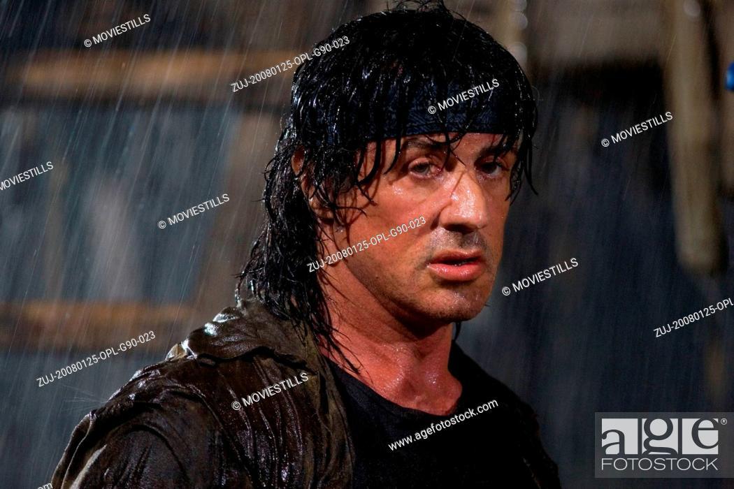 RELEASE DATE: January 25, 2008  MOVIE TITLE: John Rambo