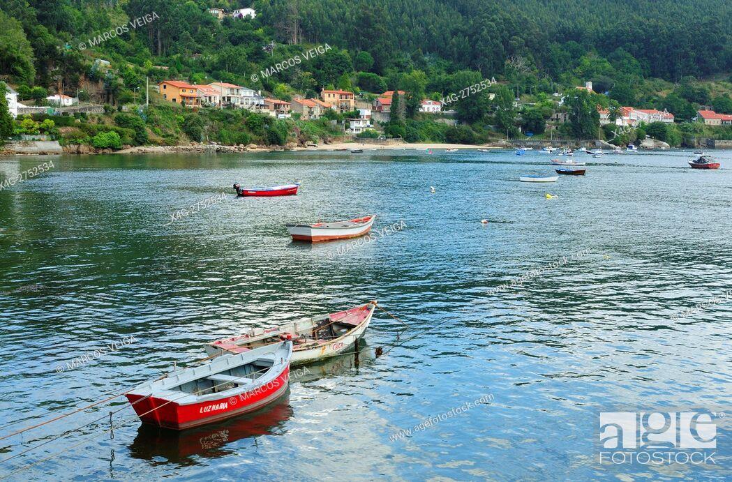 Stock Photo: Ria de Ferrol. Galicia, Spain.