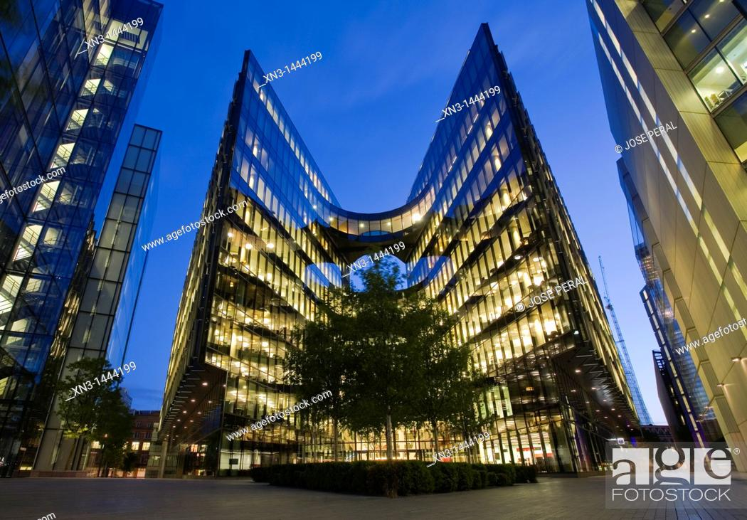 Stock Photo: More London, Development Office Buildings, Southwark, London, England, UK.