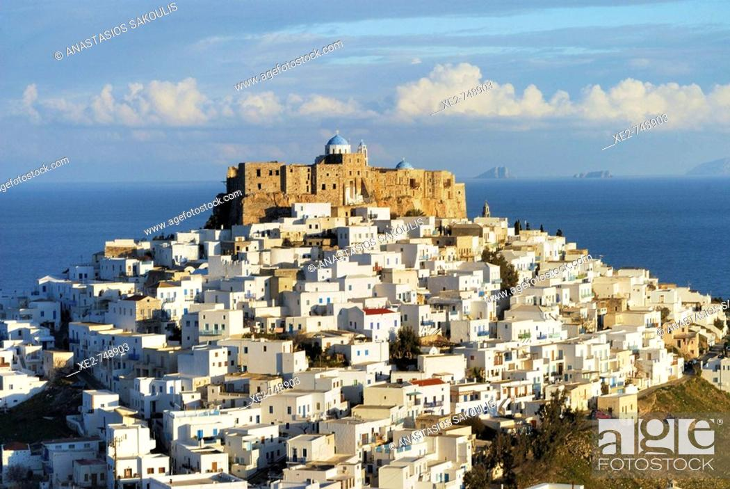 Stock Photo: Astypalaia, Greece.