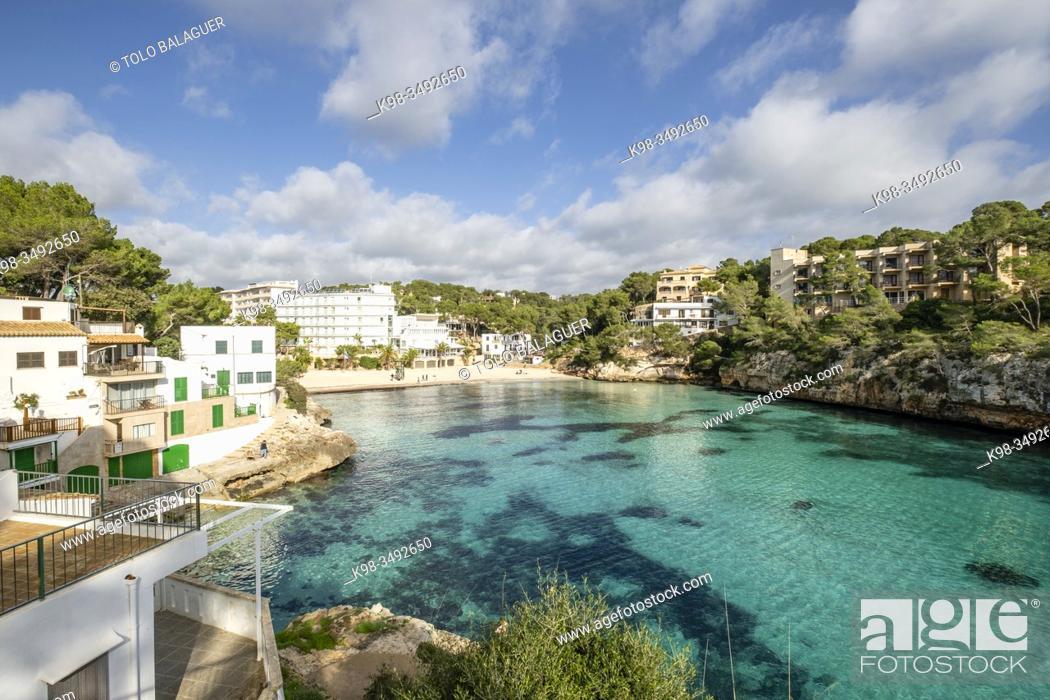 Stock Photo: Cala Santanyí, Mallorca, Balearic Islands, Spain.