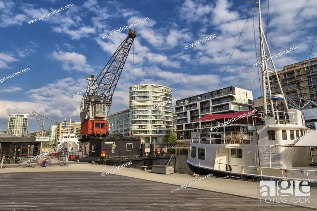 Imagen: Speicherstadt, City of Warehouses, Hamburg, Germany.