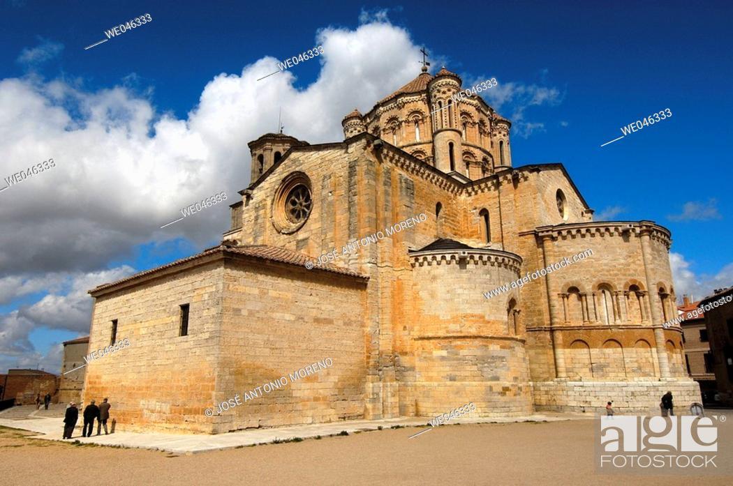 Stock Photo: Santa María la Mayor collegiate church  (12th-13th Centuries). Toro. Zamora province, Spain.