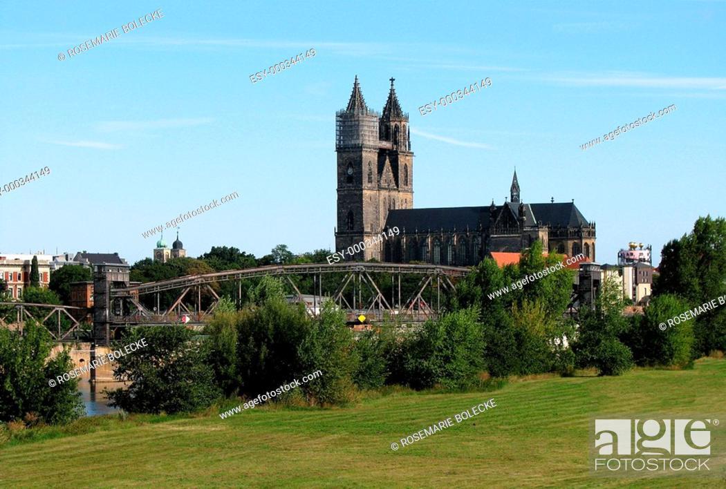 Stock Photo: Dom Magdeburg.