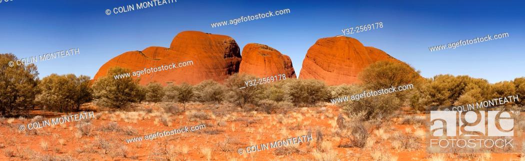 Imagen: The Olgas, Kata Tjuta National Park, Northern Territory Territory.