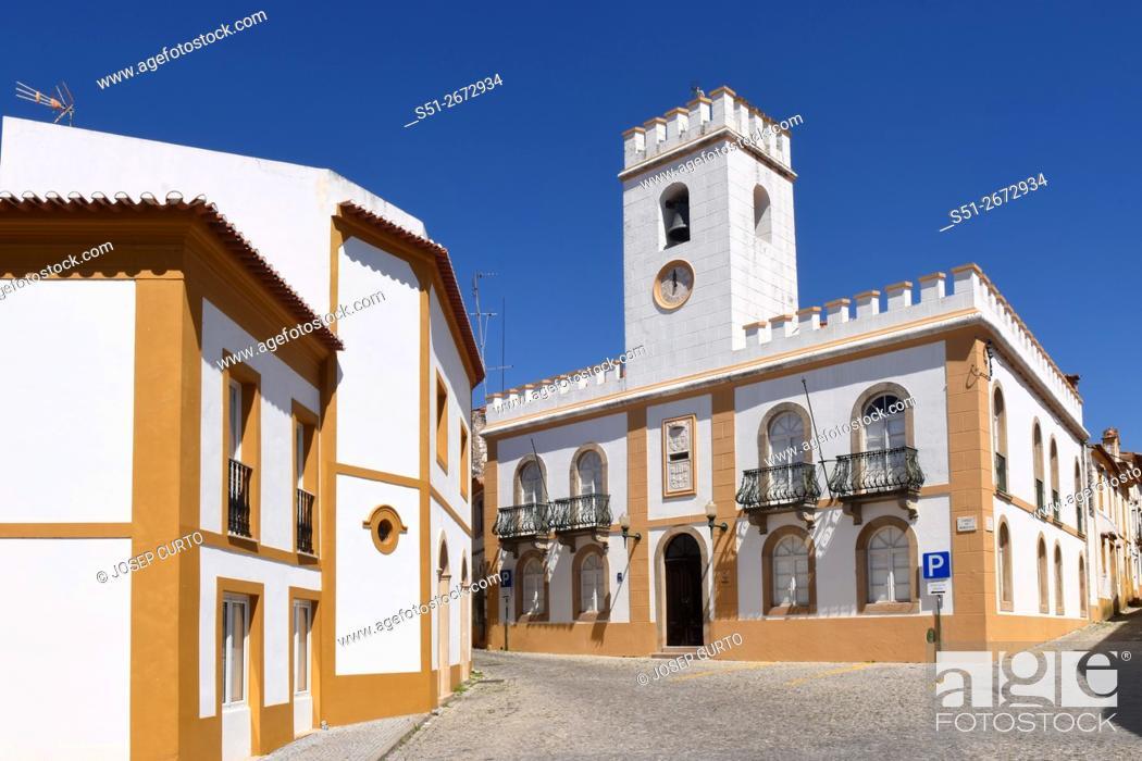 Photo de stock: Pacos de Municipio, Alter Do Chao, Beiras region, Portugal.