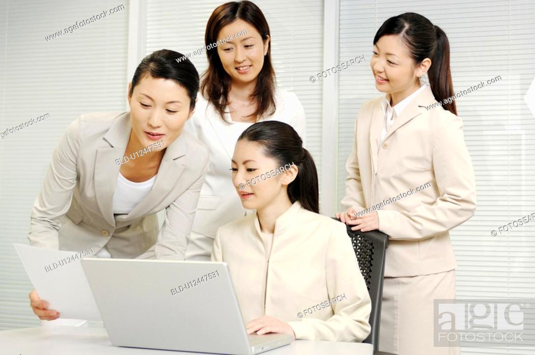 Stock Photo: Meeting.