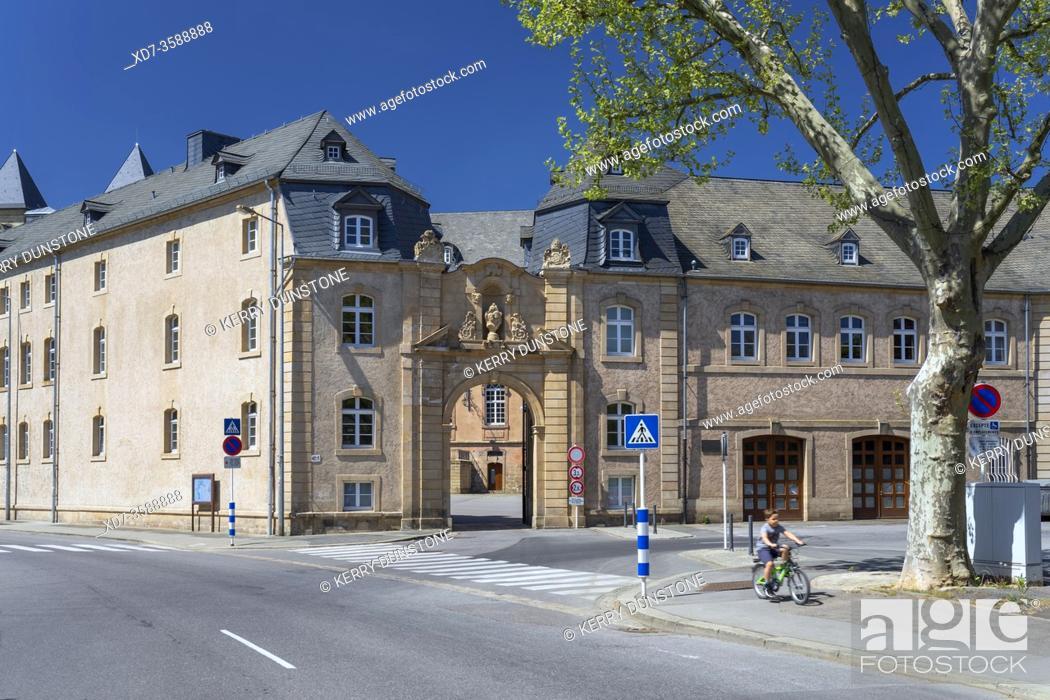 Imagen: Europe, Luxembourg, Echternach, Lycee Classique d'Echternach (Secondary School Building).