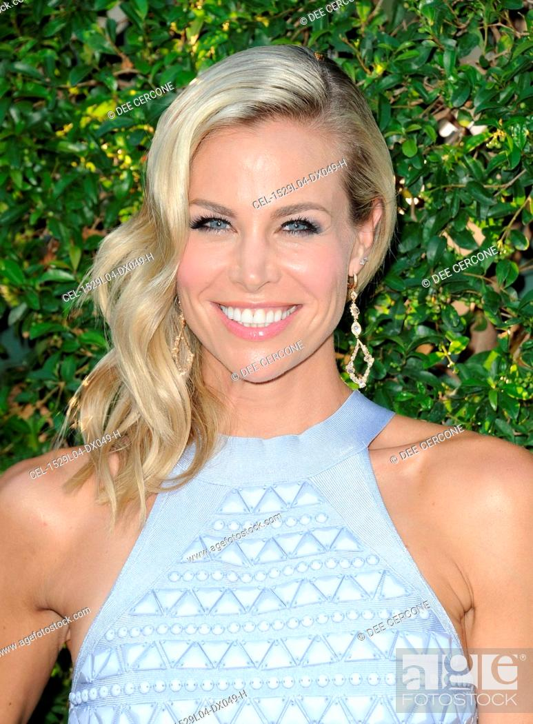 Stock Photo: Brooke Burns at arrivals for TCA Summer Press Tour: Hallmark Reception, Private Residence, Beverly Hills, CA July 29, 2015.