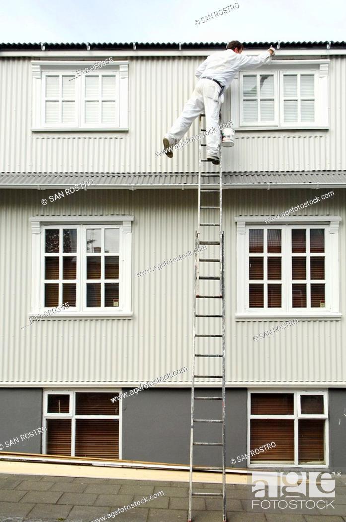 Stock Photo: Iceland, Reykjavik.