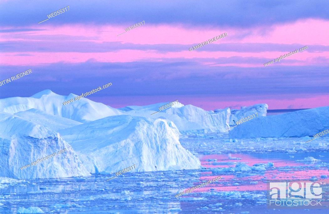 Stock Photo: Iceberg. Greenland.