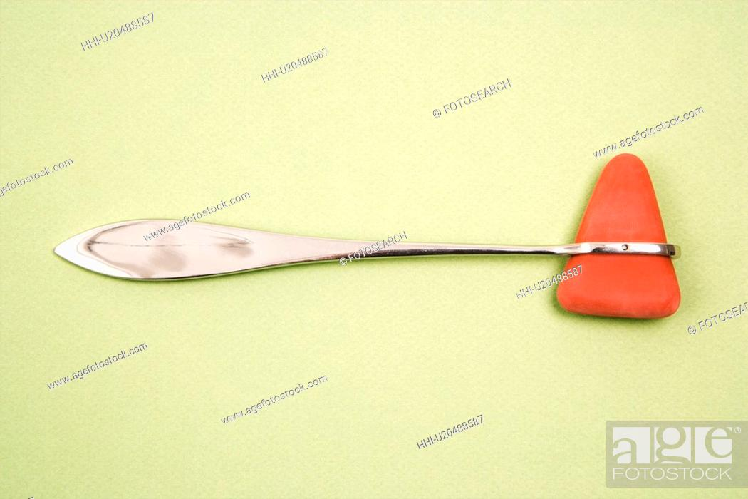 Stock Photo: Reflex hammer.