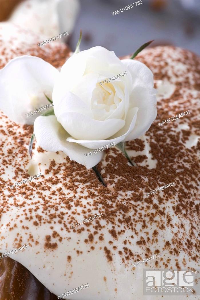Stock Photo: Baked, Cake, Close-Up, Cream, Day.