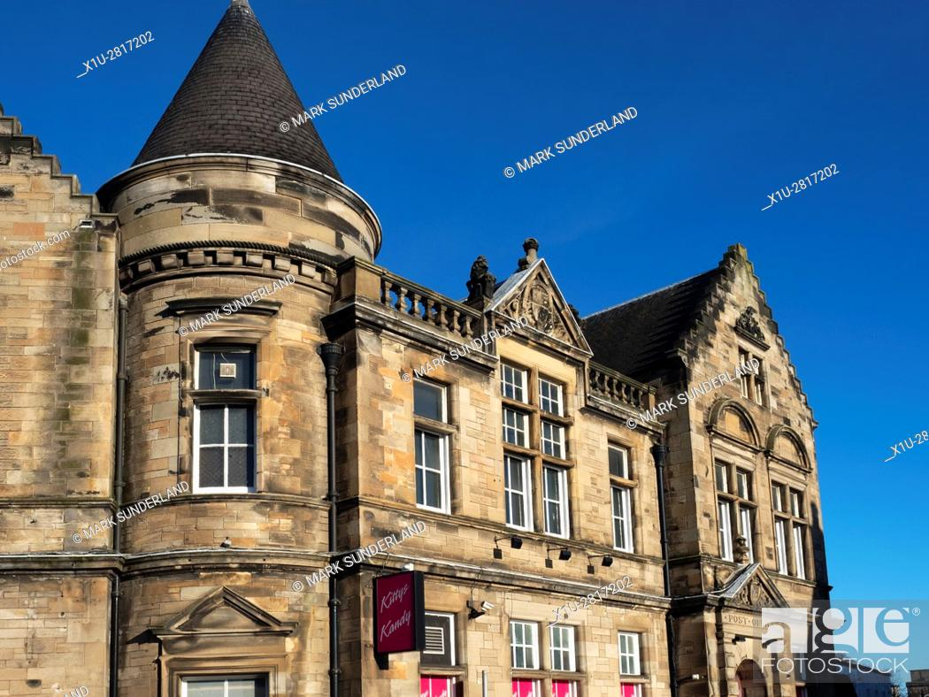 Stock Photo: Old Post Office Building now a Nightclub at Kirkcaldy Fife Scotland.