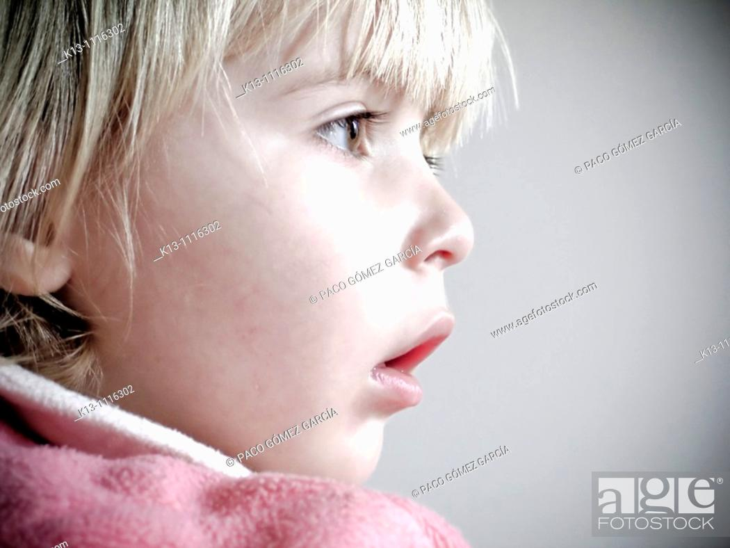 Stock Photo: Girl Portrait.