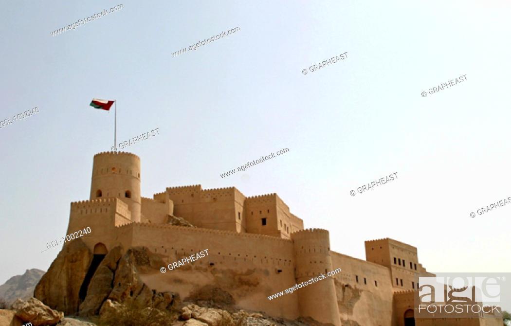 Stock Photo: Nakhal Fort, Oman.