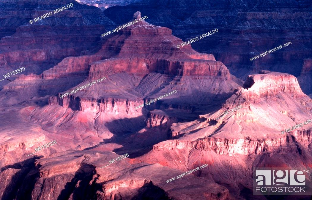 Imagen: Grand Canyon in Winter.