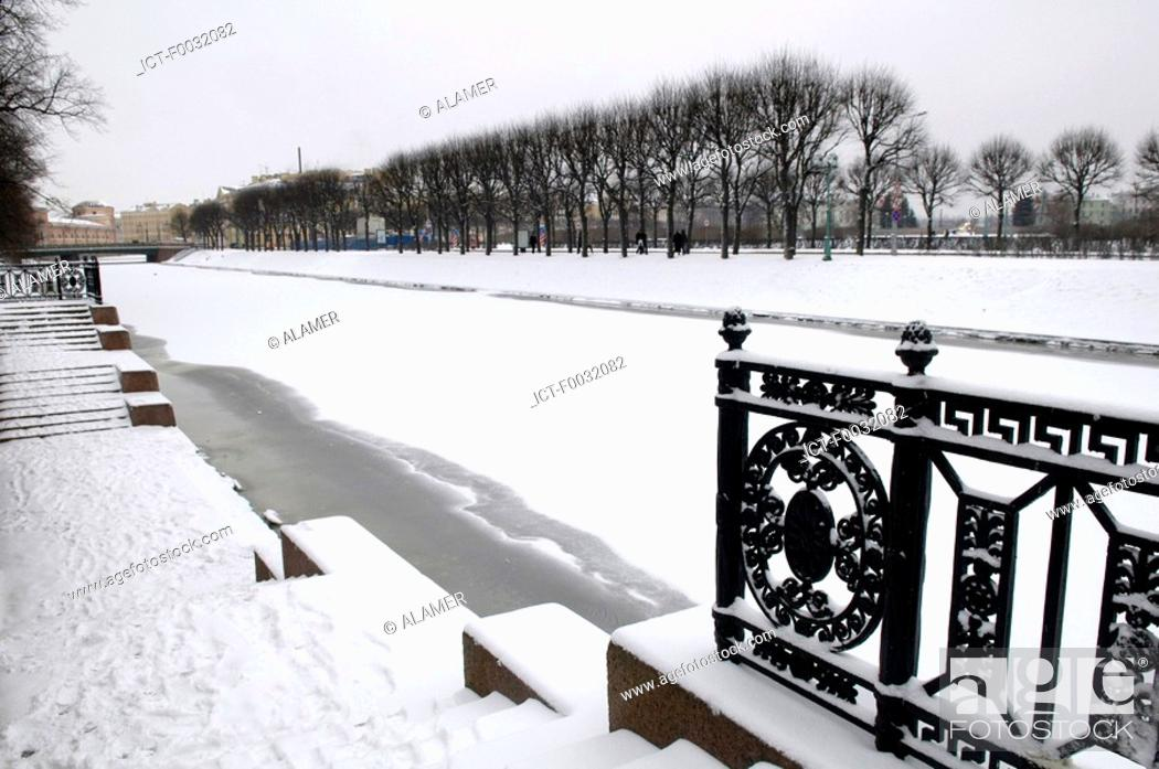 Stock Photo: Russia, St Petersburg, the Moika.