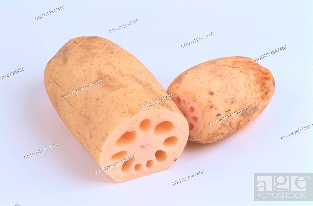 Stock Photo: Lotus Roots.