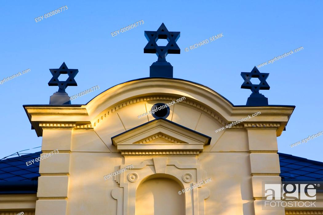 Stock Photo: synagogue, Trebic, Czech Republic.
