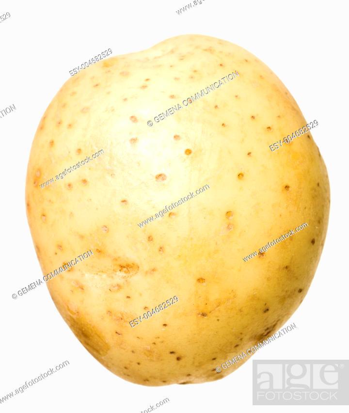 Stock Photo: Raw Potato.