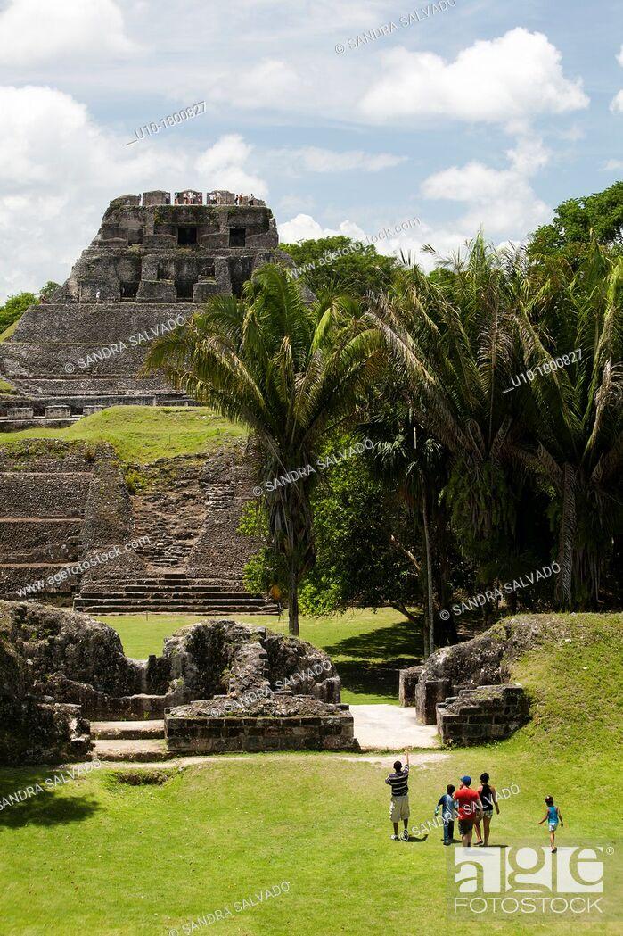 Photo de stock: Archeological site Xunantunich, Belize.