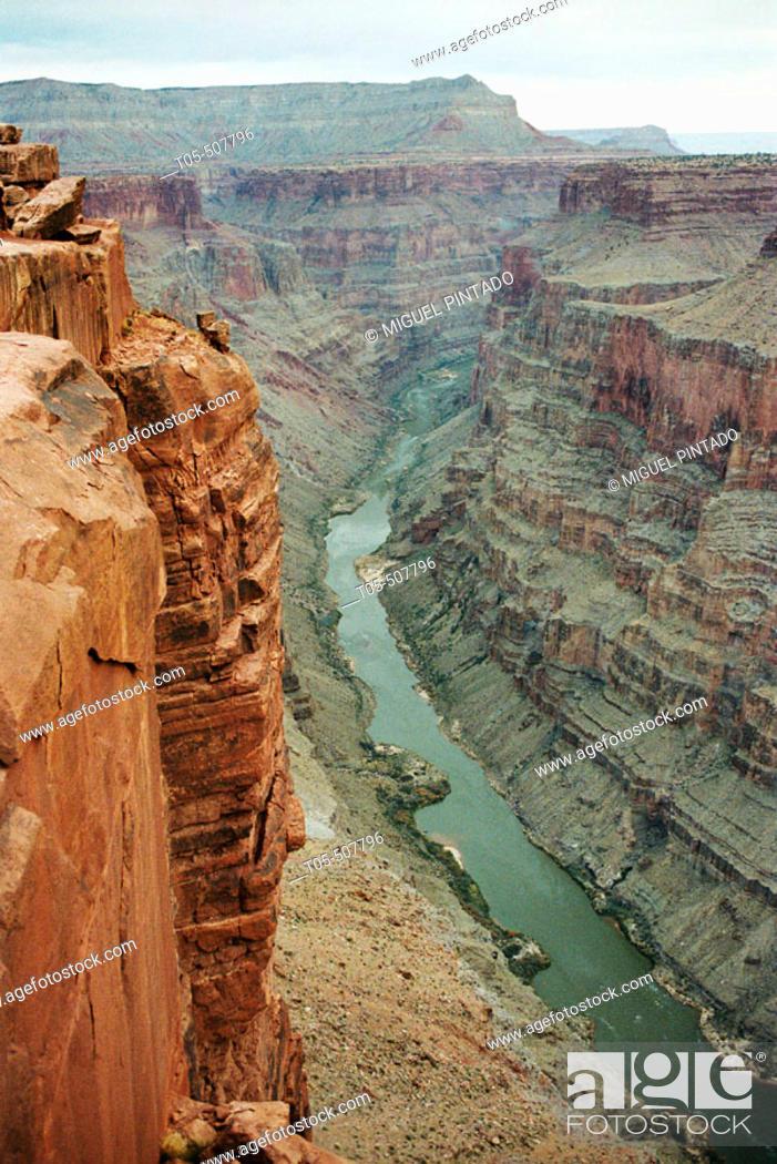 Stock Photo: Colorado river in Tuweep Valley. Nevada, USA.