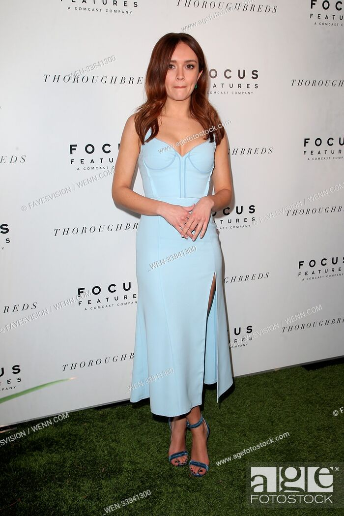 Imagen: Premiere of Focus Features' 'Thoroughbreds' at Sunset Marquis Hotel - Arrivals Featuring: Olivia Cooke Where: West Hollywood, California.