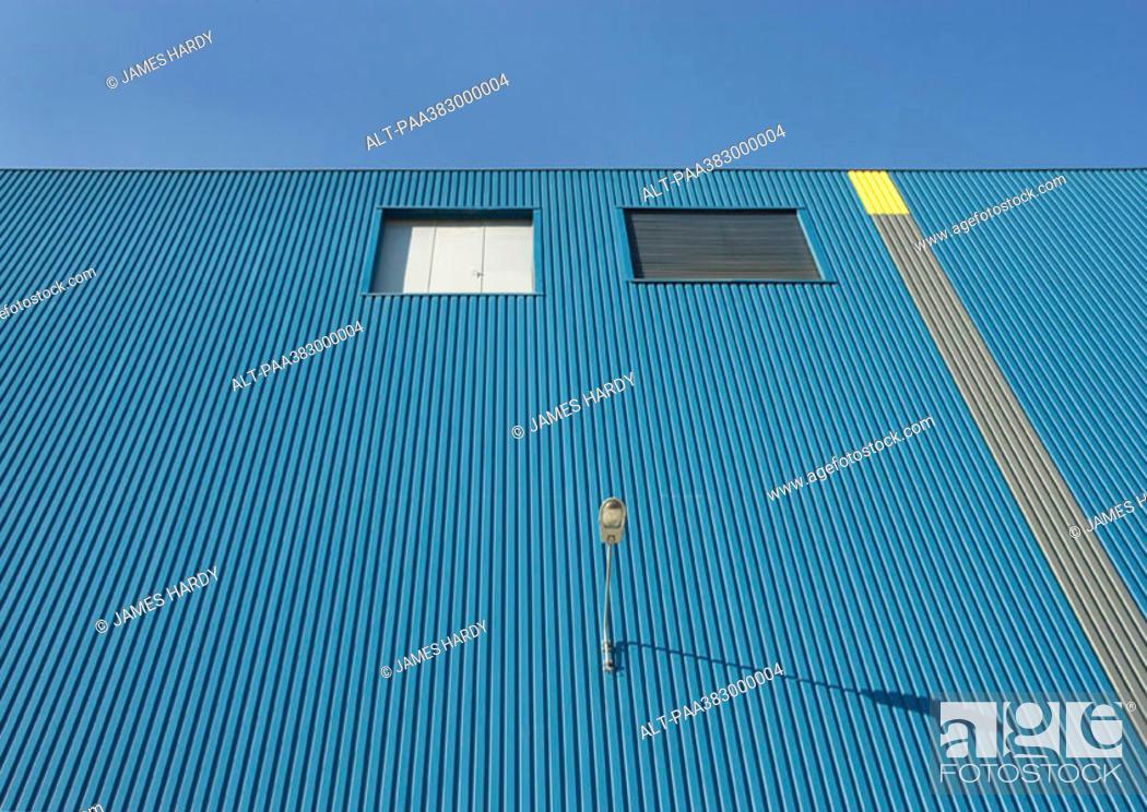Stock Photo: Warehouse, low angle view.