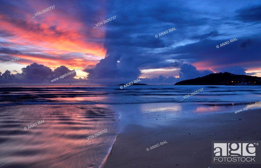Stock Photo: Spain. Galicia. Pontevedra. Playa America. Nigran.