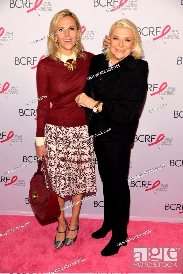 761407f7325 Stock Photo - Breast Cancer Research Foundation Symposium and Awards  Luncheon at the Waldorf Astoria New York Featuring  Tory Burch