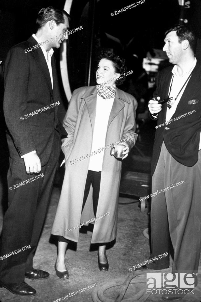 Stock Photo: 1950, Film Title: CRISIS, Director: RICHARD BROOKS, Studio: MGM, Pictured: JAMES L BROOKS, RICHARD BROOKS, JUDY GARLAND. (Credit Image: SNAP/ZUMAPRESS.