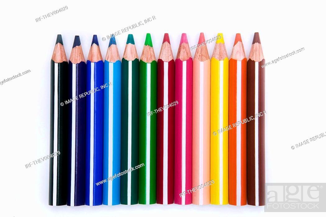Photo de stock: colored pencils.