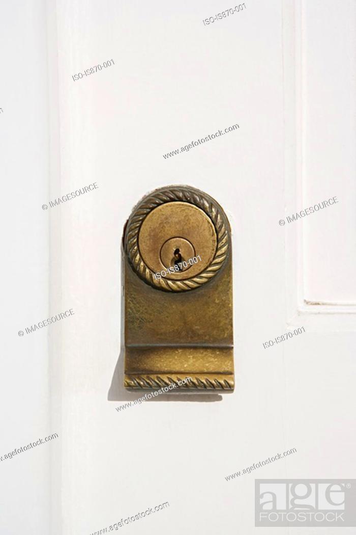 Stock Photo: Keyhole.
