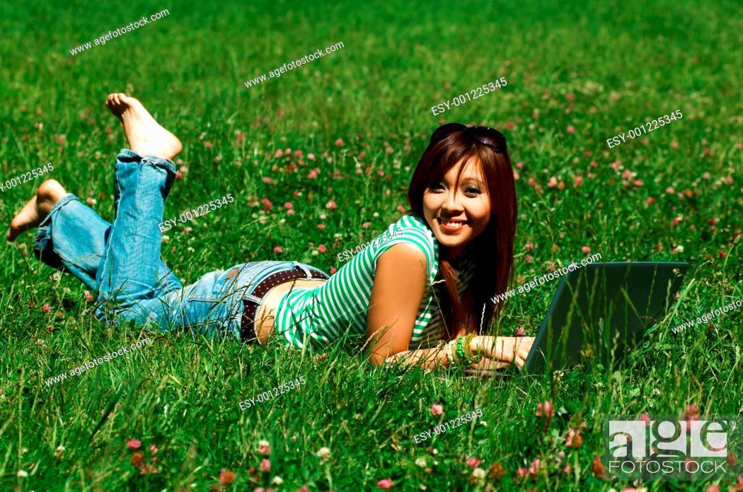 Stock Photo: Meadows Girl.