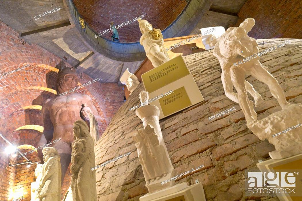 Stock Photo: City Hall, Inside Tower Museum, Stockholm, Sweden, Scandinavia, Europe.