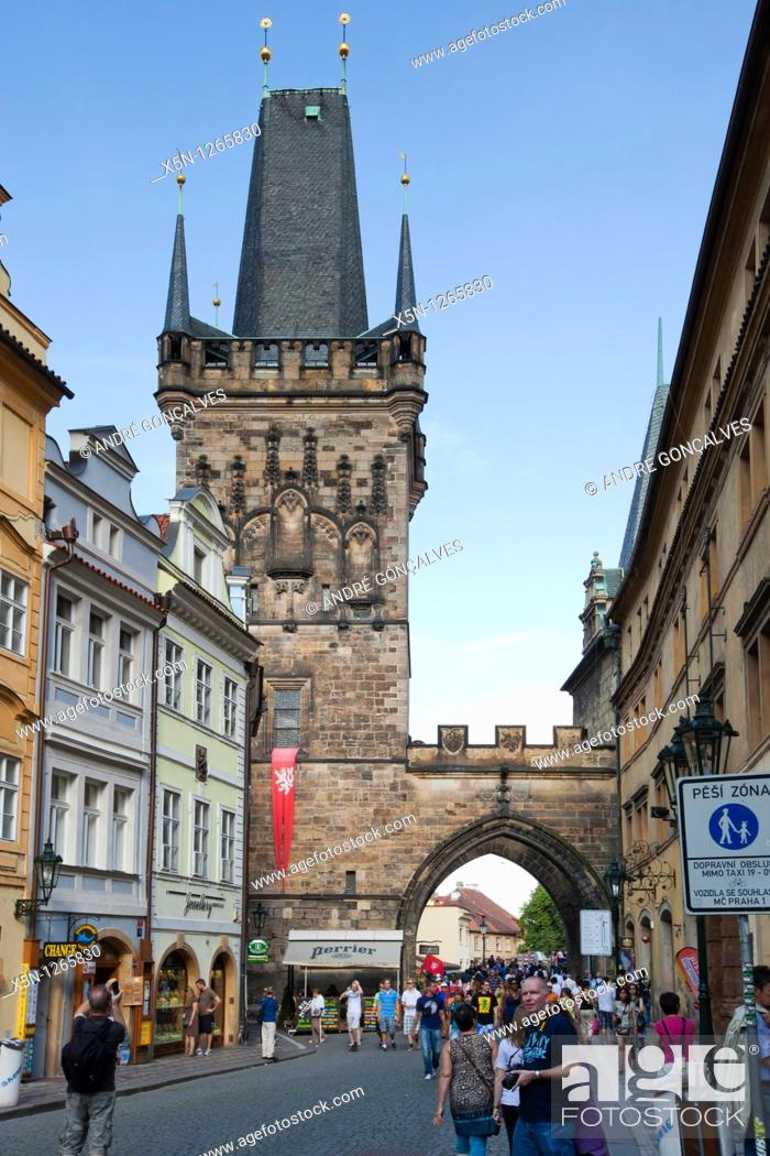 Stock Photo: Prague, Czech Republic.