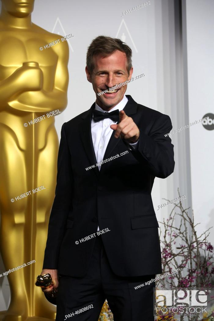 Director Spike Jonze poses in the press room of the 86th