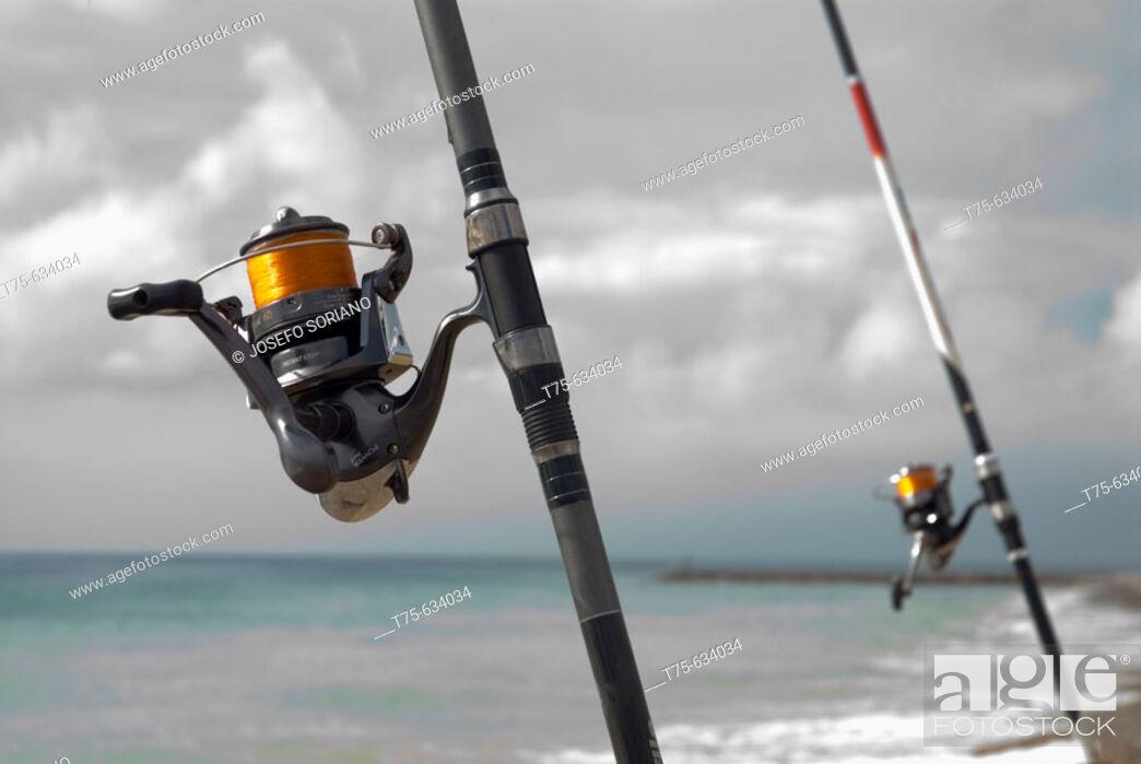 Stock Photo: Fishing.